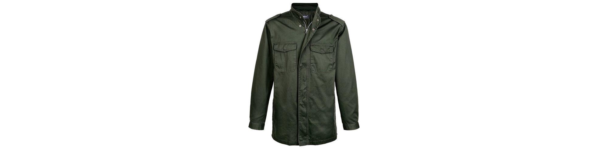 Shop-Angebot Men Plus by Happy Size Long-Jacke 100% Original Zum Verkauf Freies Verschiffen Niedrig Kosten d61OeNua