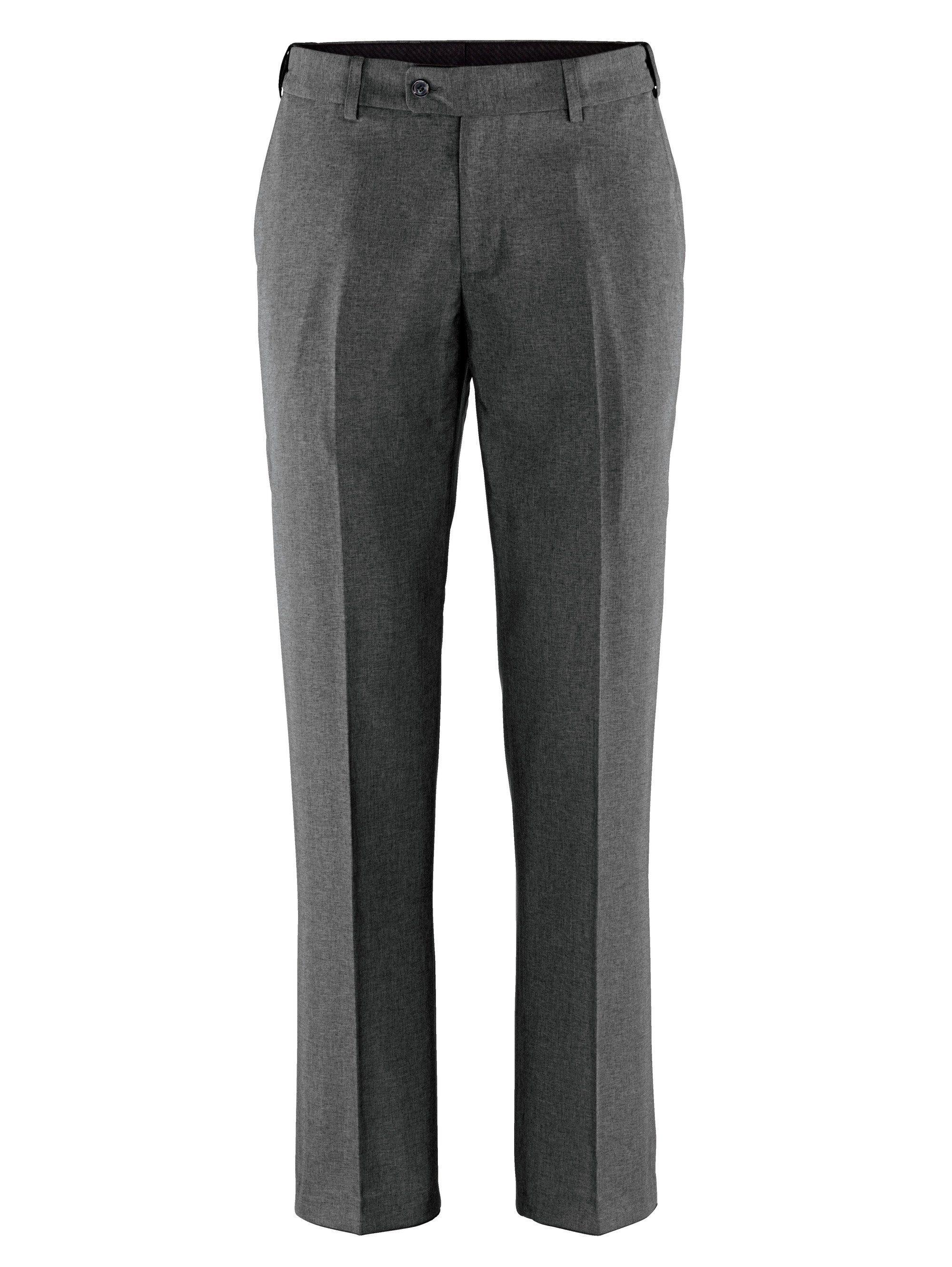 Men Plus by Happy Size Spezialschnitt Anzugshose mit Schiebebund