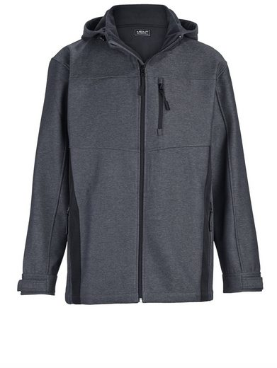 Men Plus by Happy Size Softshelljacke