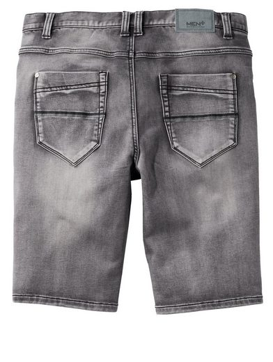 Men Plus by Happy Size Bermuda Jog-Denim