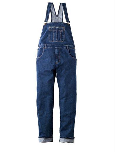 Men Plus by Happy Size Jeans-Latzhose