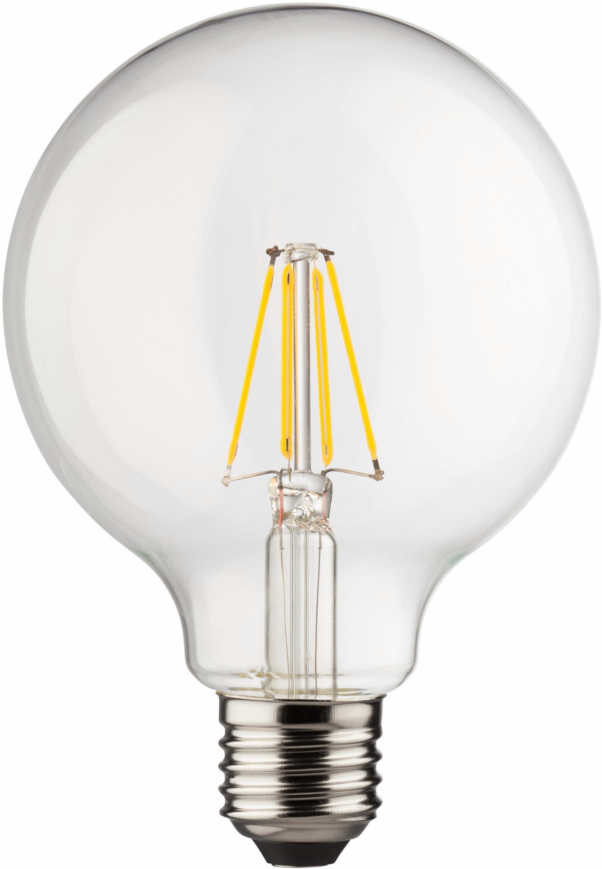 MÜLLER LICHT »Globeform« LED-Leuchtmittel, E27, 3 Stück, Warmweiß