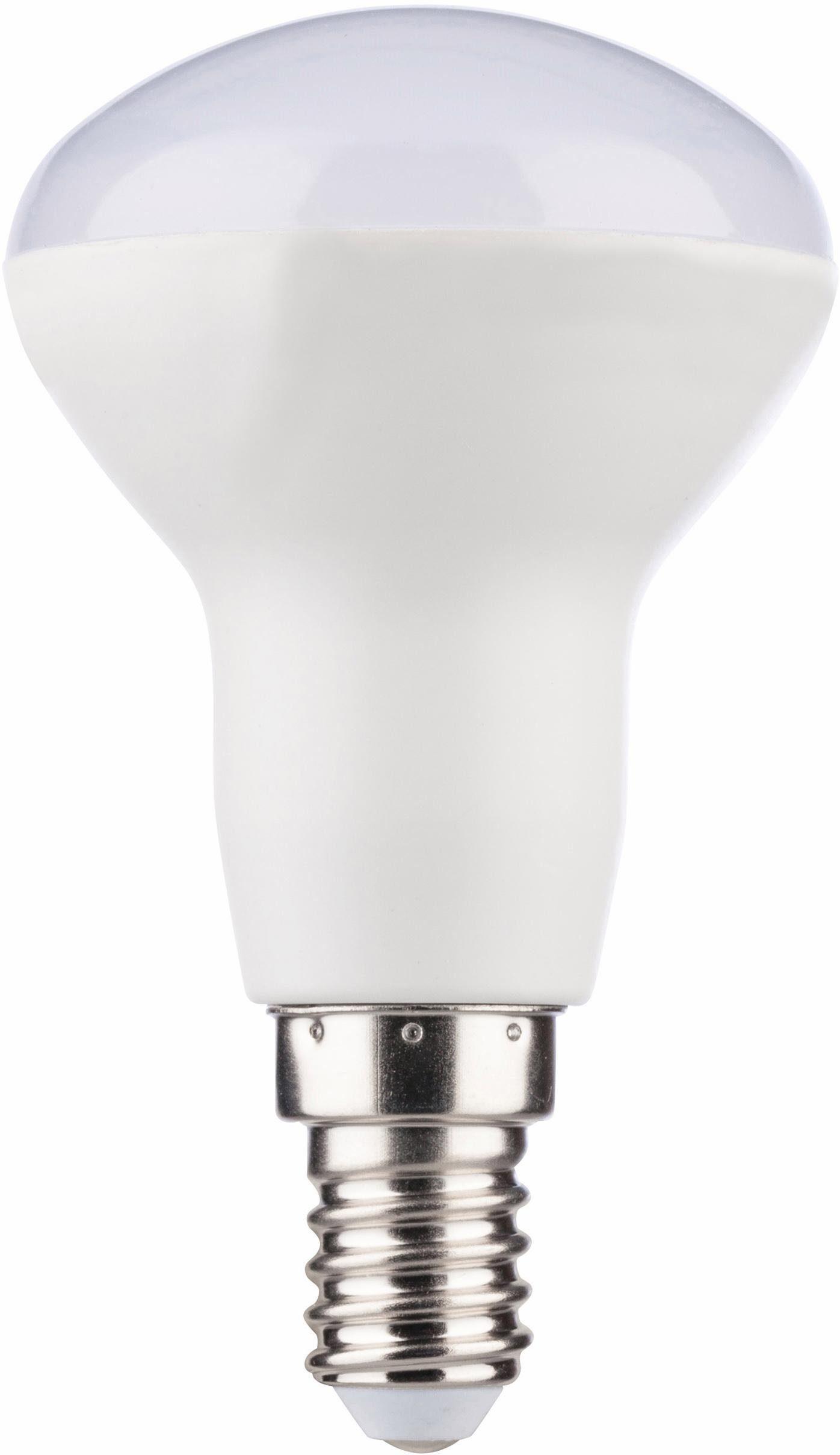 MÜLLER LICHT »Reflektor« LED-Leuchtmittel, E14, 6 Stück, Warmweiß