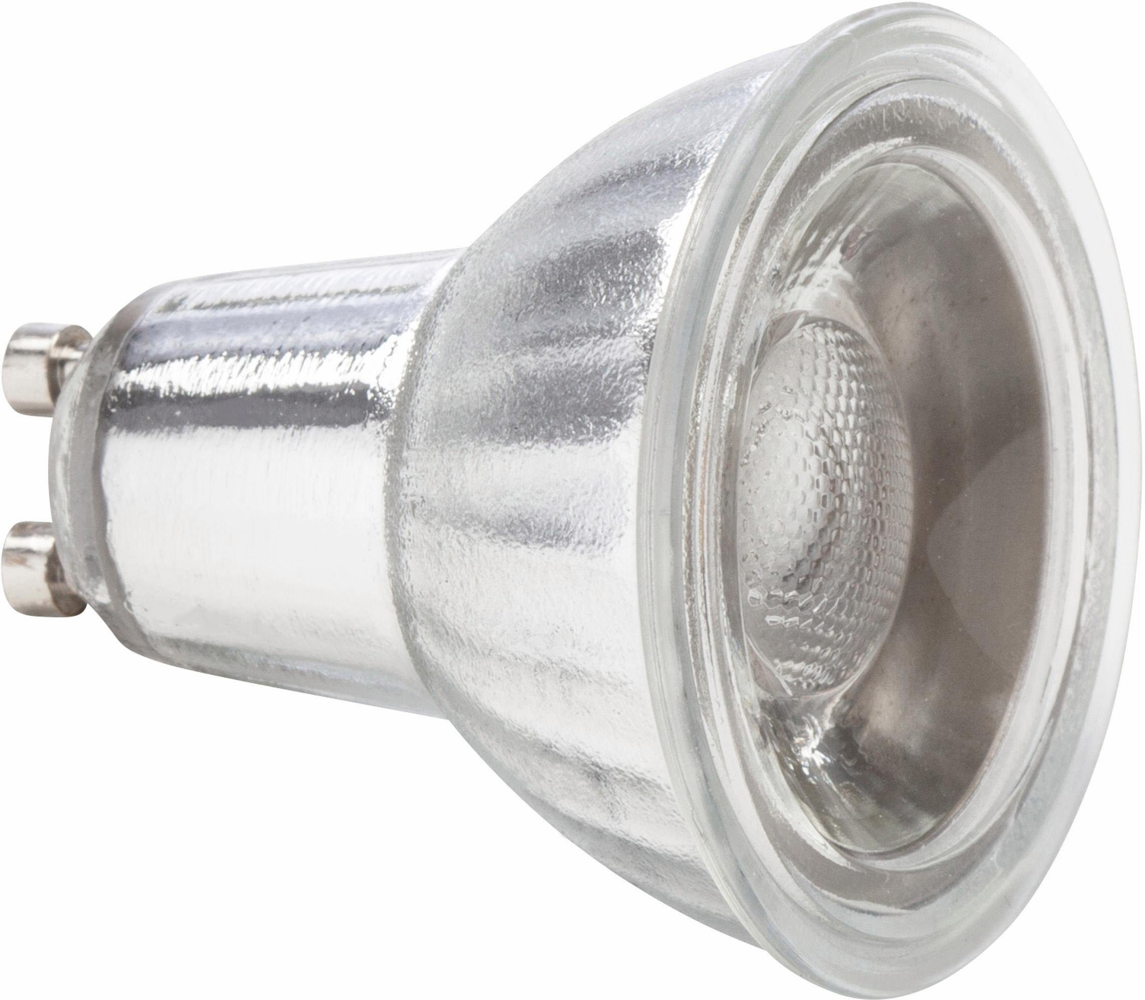 MÜLLER LICHT »Reflektor« LED-Leuchtmittel, GU10, 4 Stück, Warmweiß