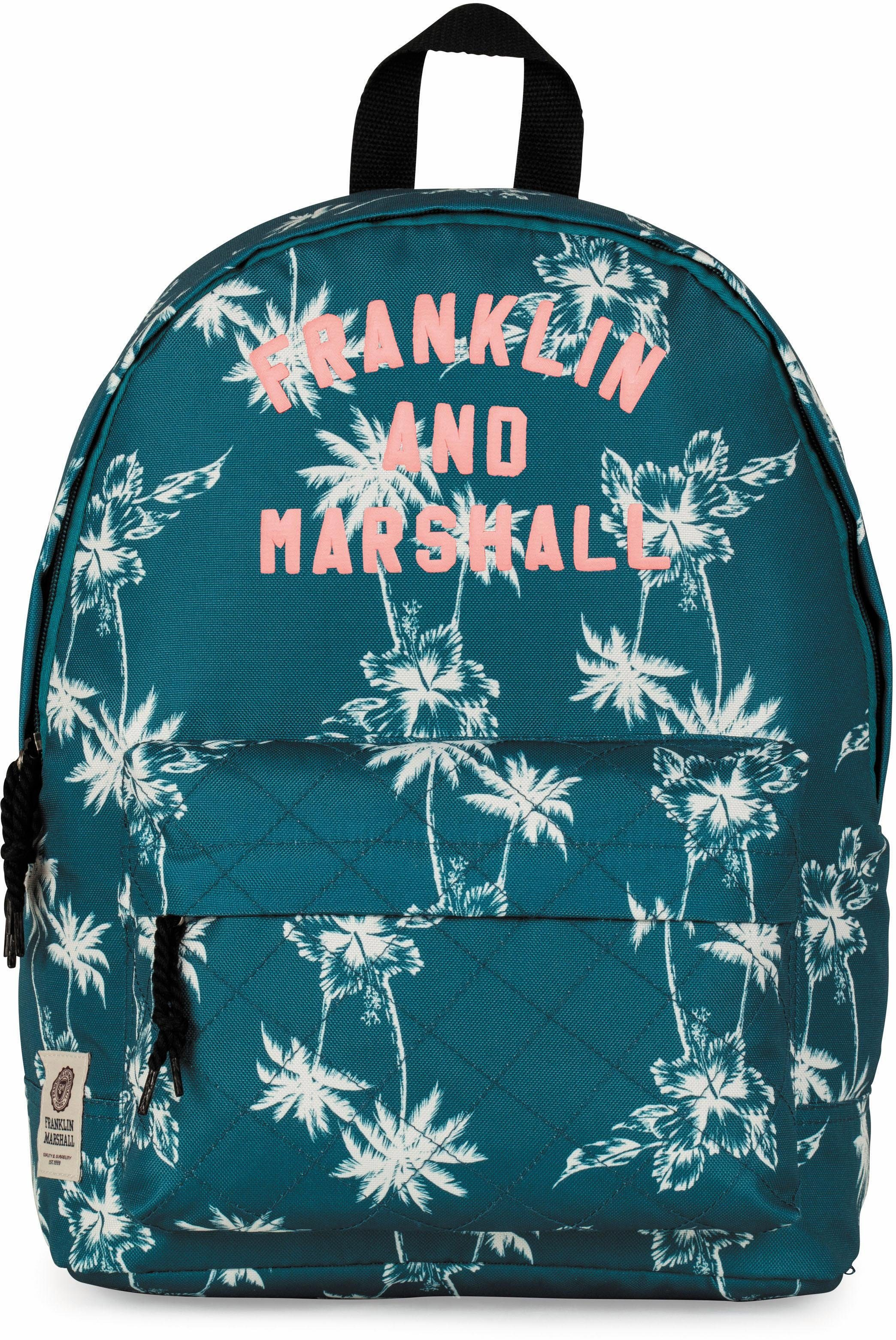 Franklin & Marshall Rucksack, »Girls, Palmen, petrol«