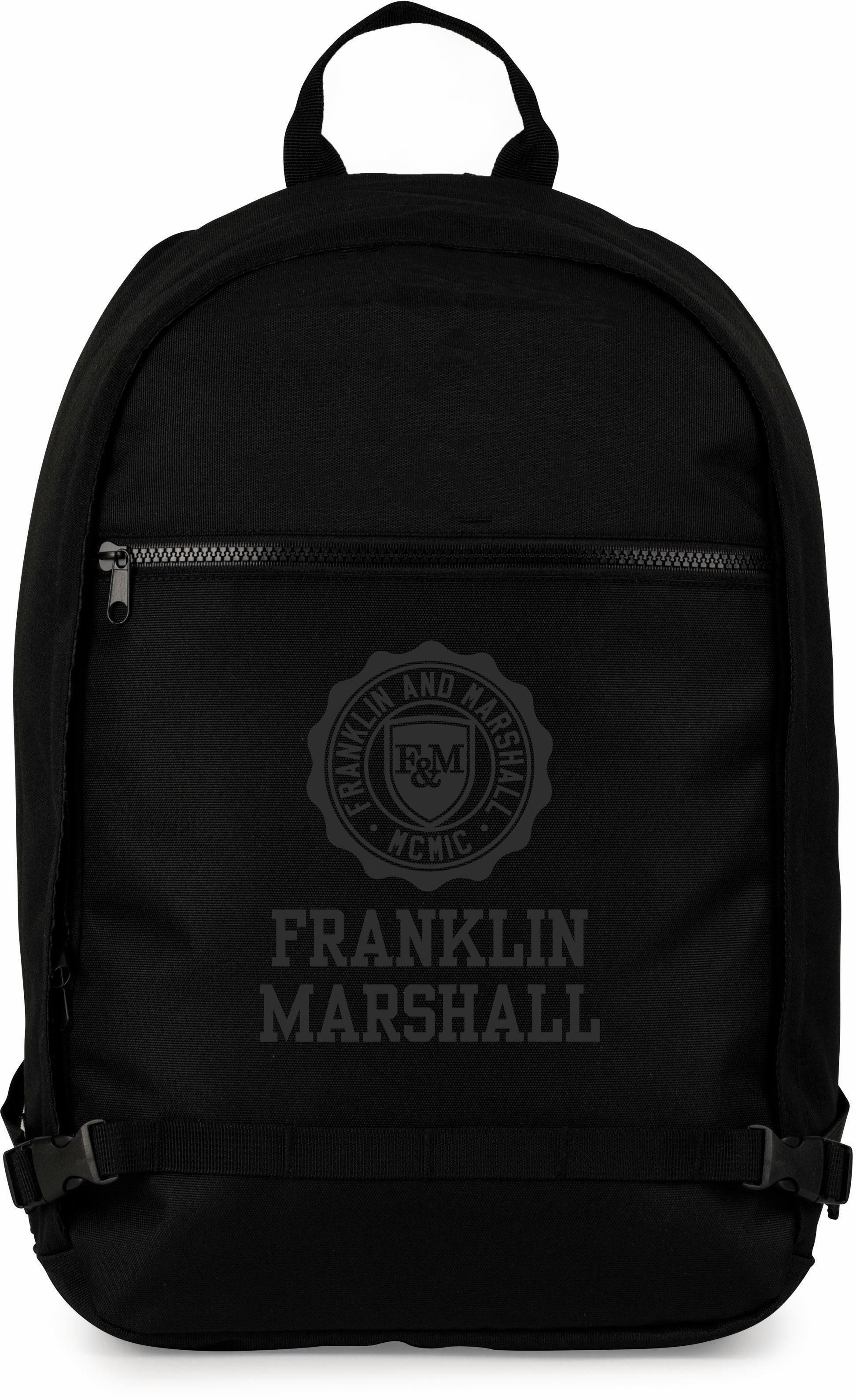 Franklin & Marshall Rucksack, »Boys Ergo, schwarz«