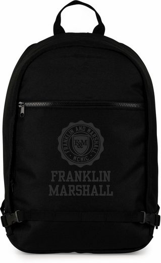 franklin marshall freizeitrucksack boys ergo schwarz. Black Bedroom Furniture Sets. Home Design Ideas
