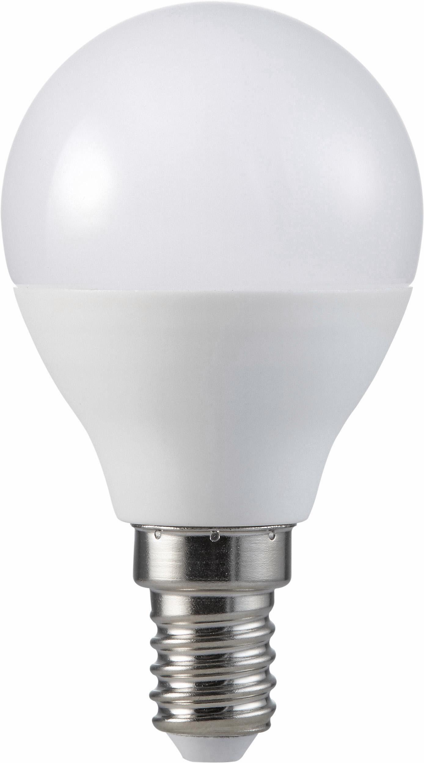 MÜLLER LICHT »Tropfenform« LED-Leuchtmittel, E14, 7 Stück, Warmweiß