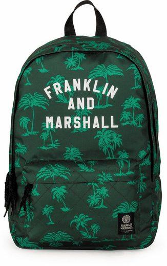 Franklin & Marshall Freizeitrucksack »Boys Palmen grün«