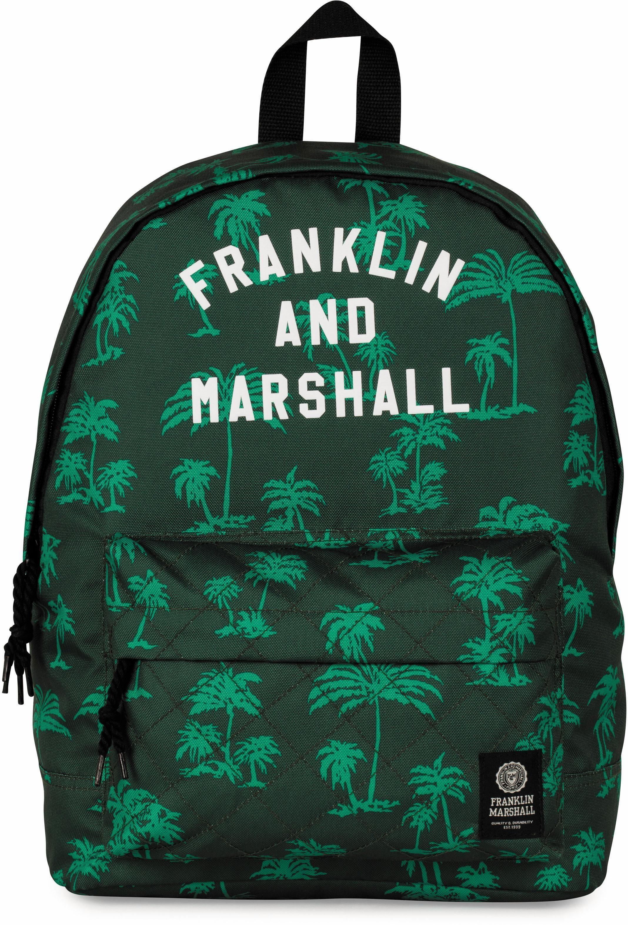 Franklin & Marshall Rucksack, »Boys, Palmen, grün«
