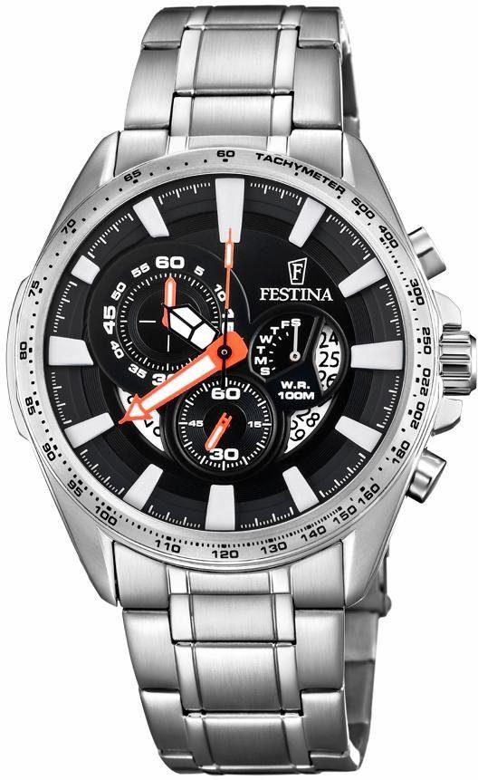 Festina Chronograph »Chronograph Sport, F6864/4« mit dezentraler Sekunde