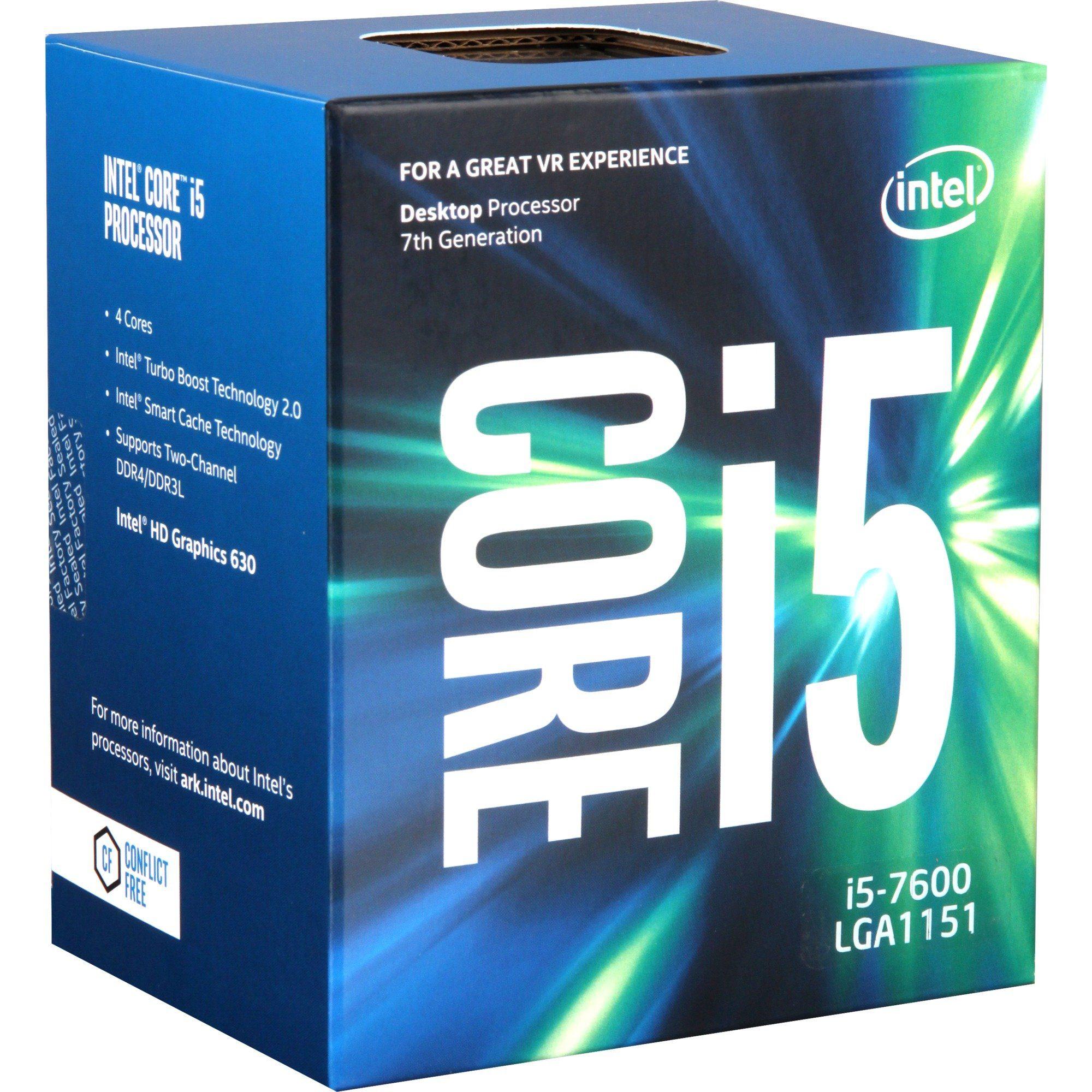 Intel® Prozessor »Core i5-7600«