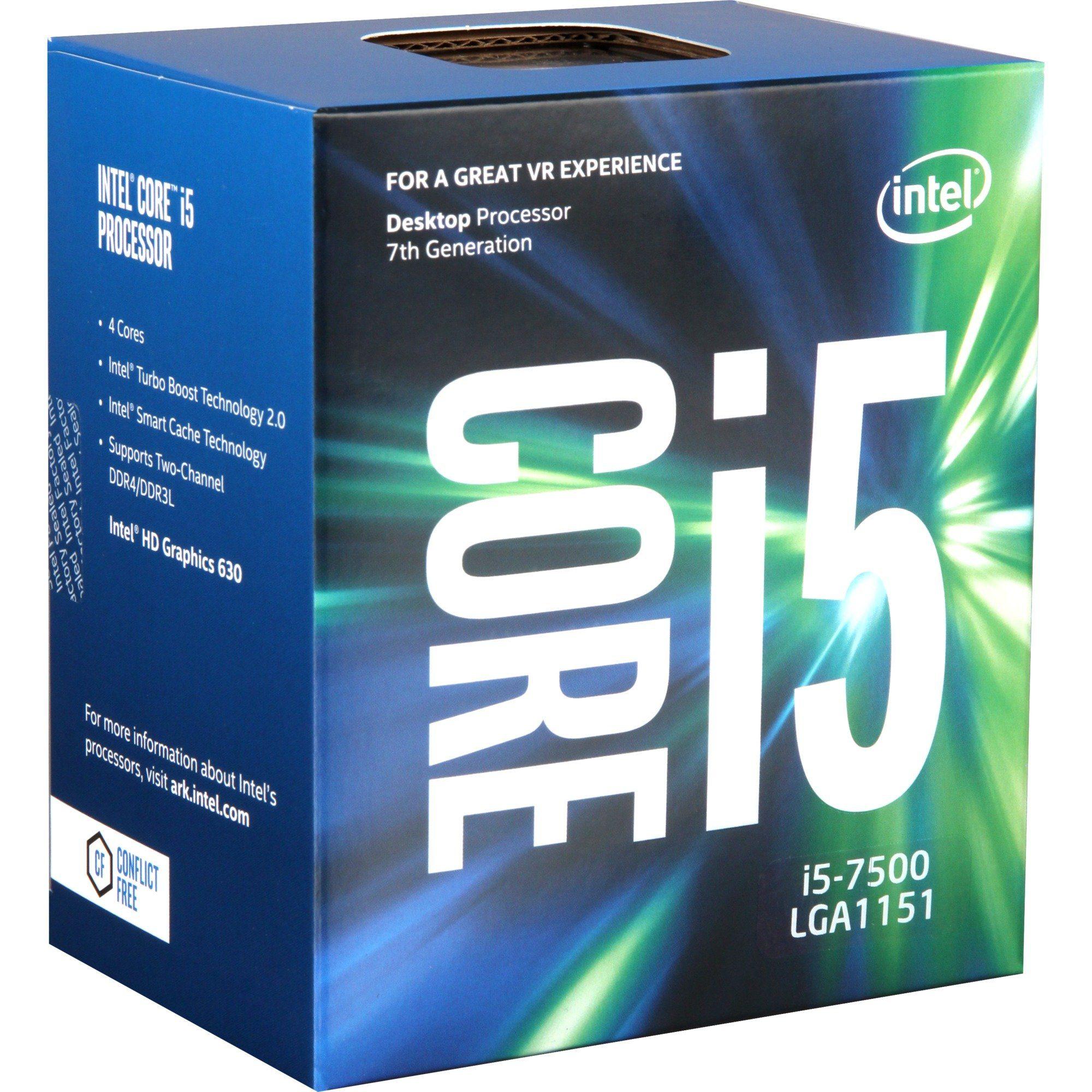 Intel® Prozessor »Core i5-7500«