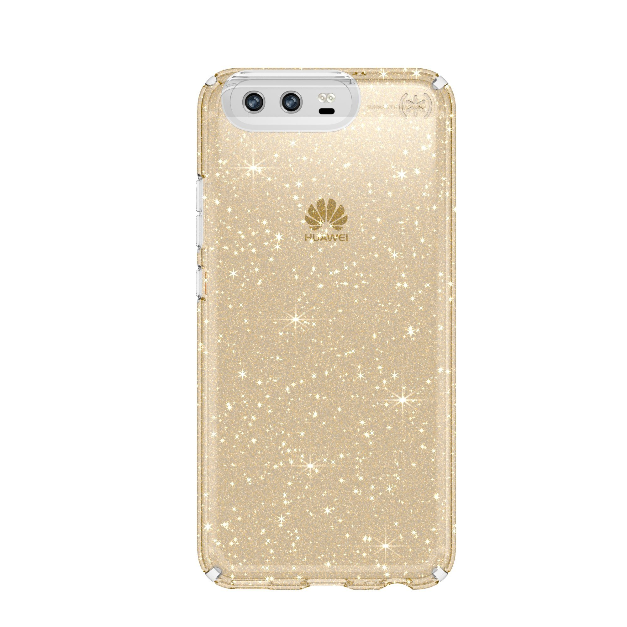 Speck HardCase »PRESIDIO Huawei P10 Clear Glitter Clear with Gold «