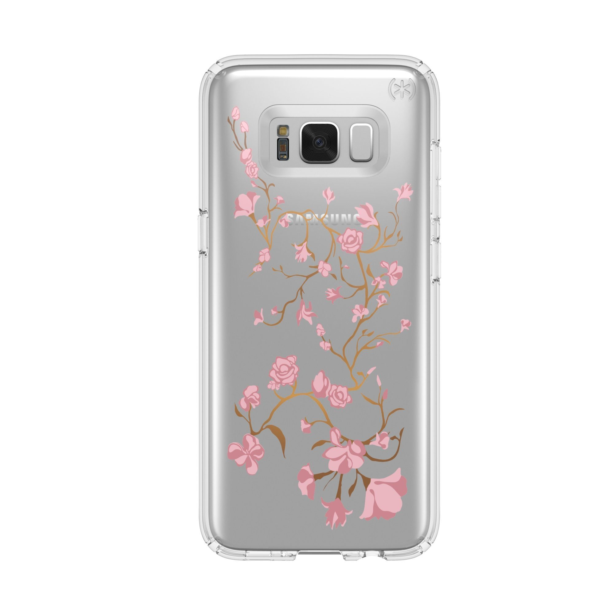 Speck HardCase »Presidio Samsung Galaxy S8 GoldenBlossoms Pink/Cle«