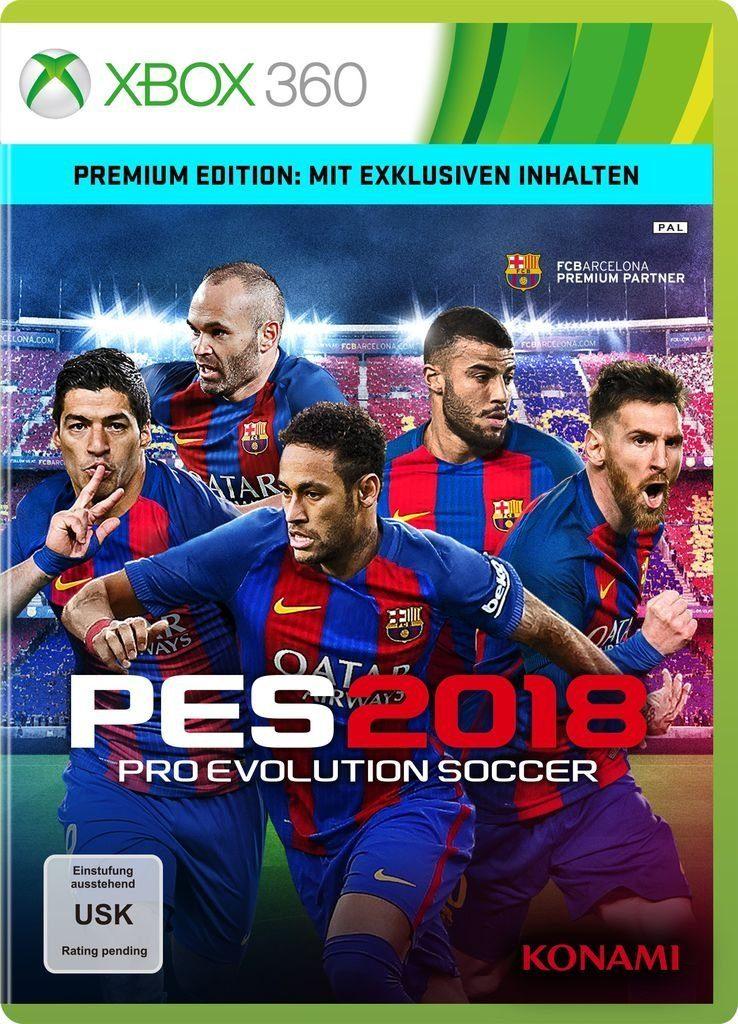 Konami XBOX 360 - Spiel »PES 2018 - Premium Edition«