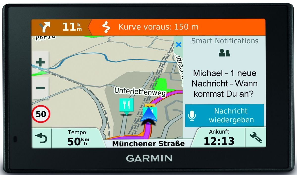 Garmin Navigationsgerät »DRIVE Smart 51 LMT-D CE (Automotive)«