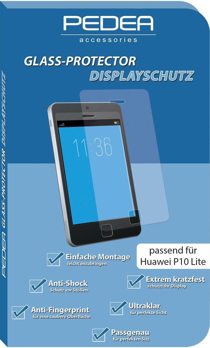 PEDEA Zubehör »Glasschutzfolie für Huawei P10 Lite«