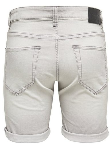 ONLY & SONS Loom grey Jeansshorts