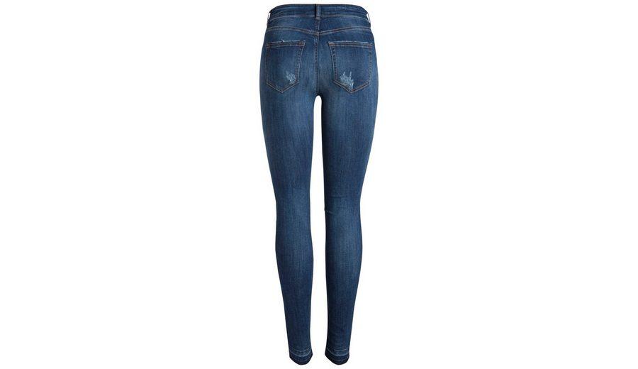 Online Einkaufen Pieces Destroyed Jeans mit Normal Waist Billig Zu Kaufen Fälschung 0hpmAX4i8