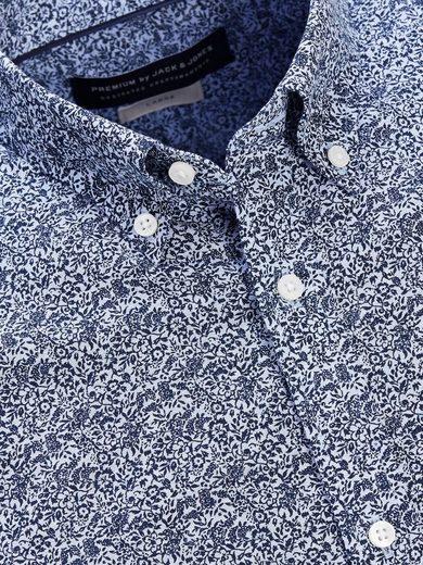 Jack & Jones Blumiges Langarmhemd