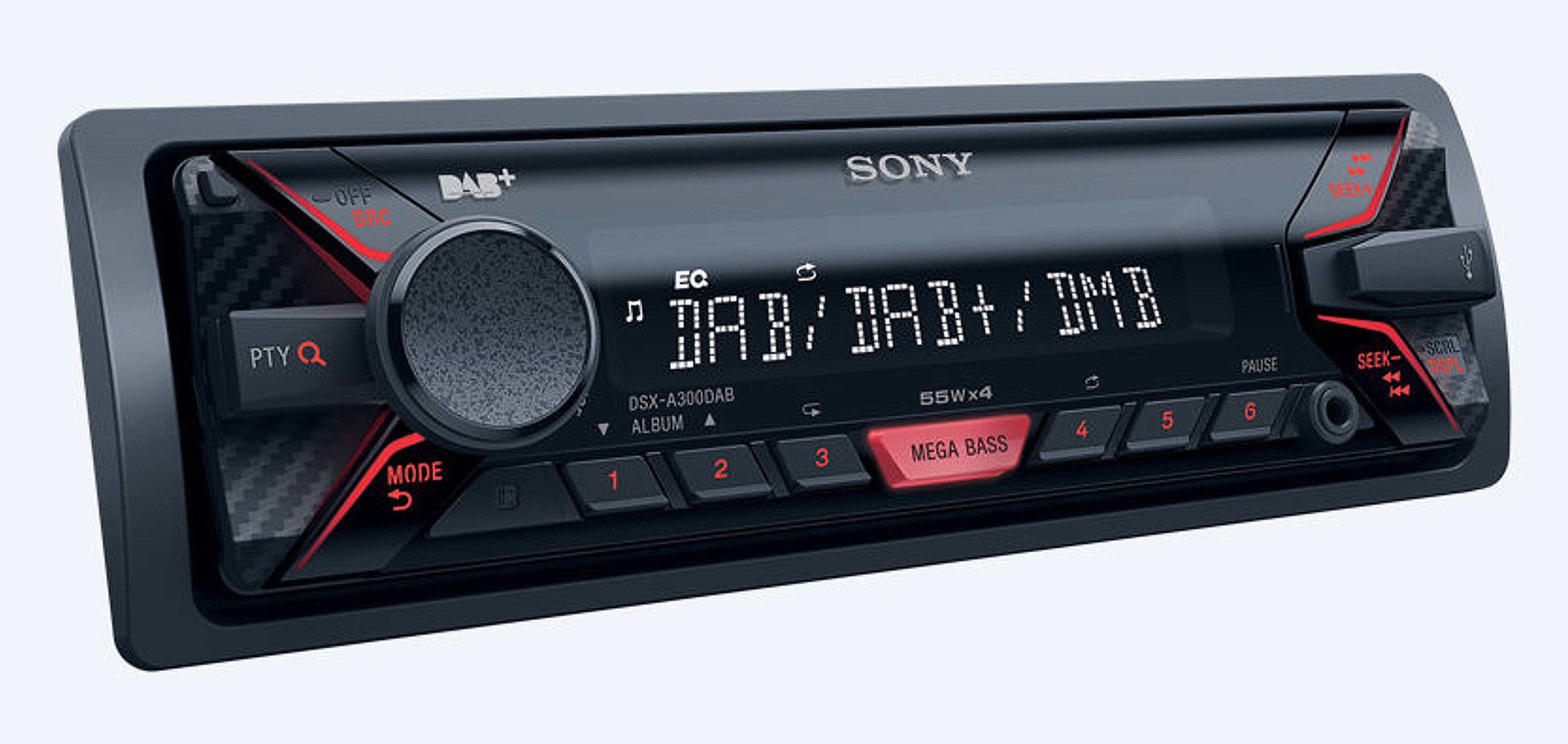 Sony 1-DIN Autoradio mit USB & Bluetooth® »DSX-A300DKITEI«