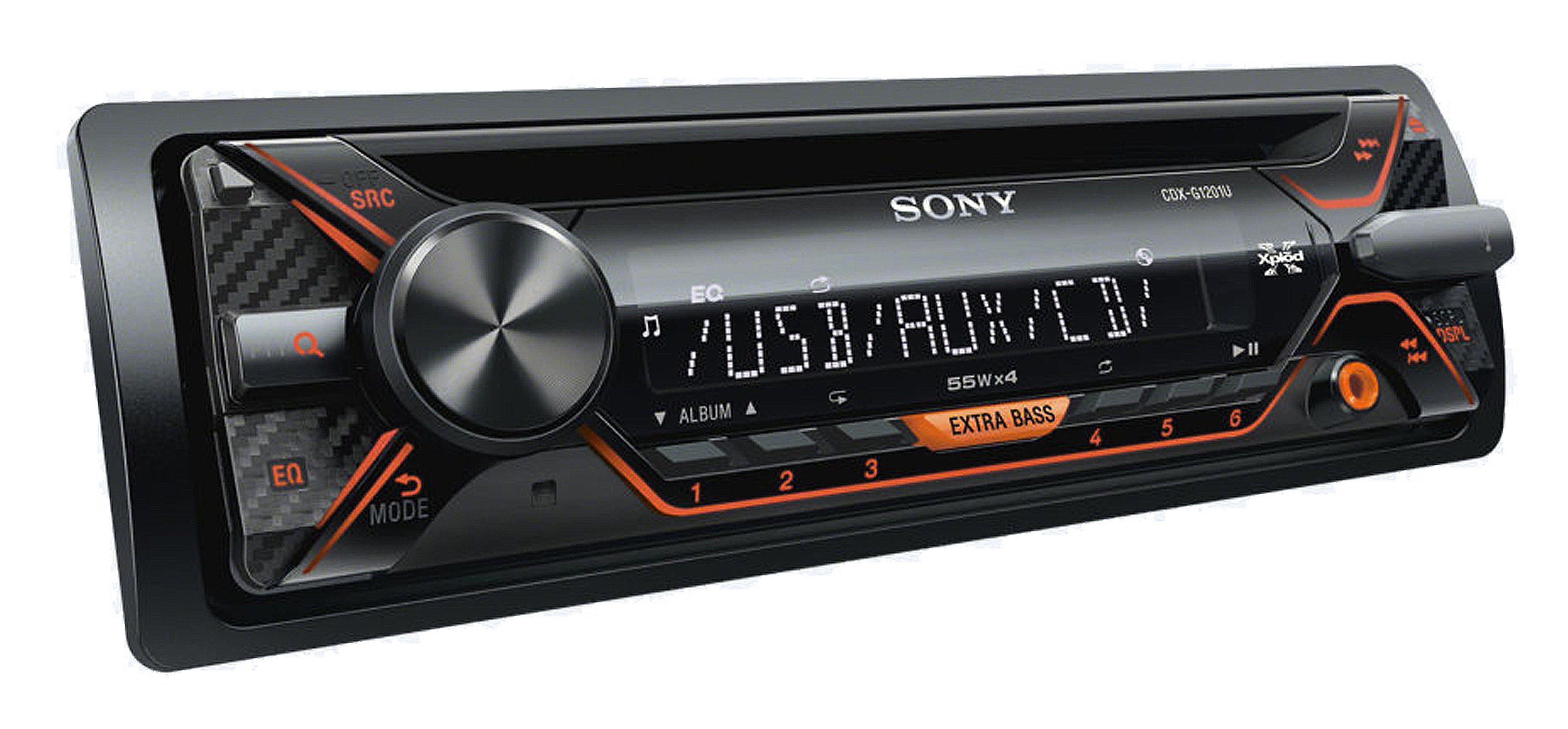 Sony 1-DIN CD-Receiver mit USB »CDX-G1201U«