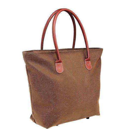 BUTLERS PACK & RIDE Einkaufstasche mit Reißverschluss