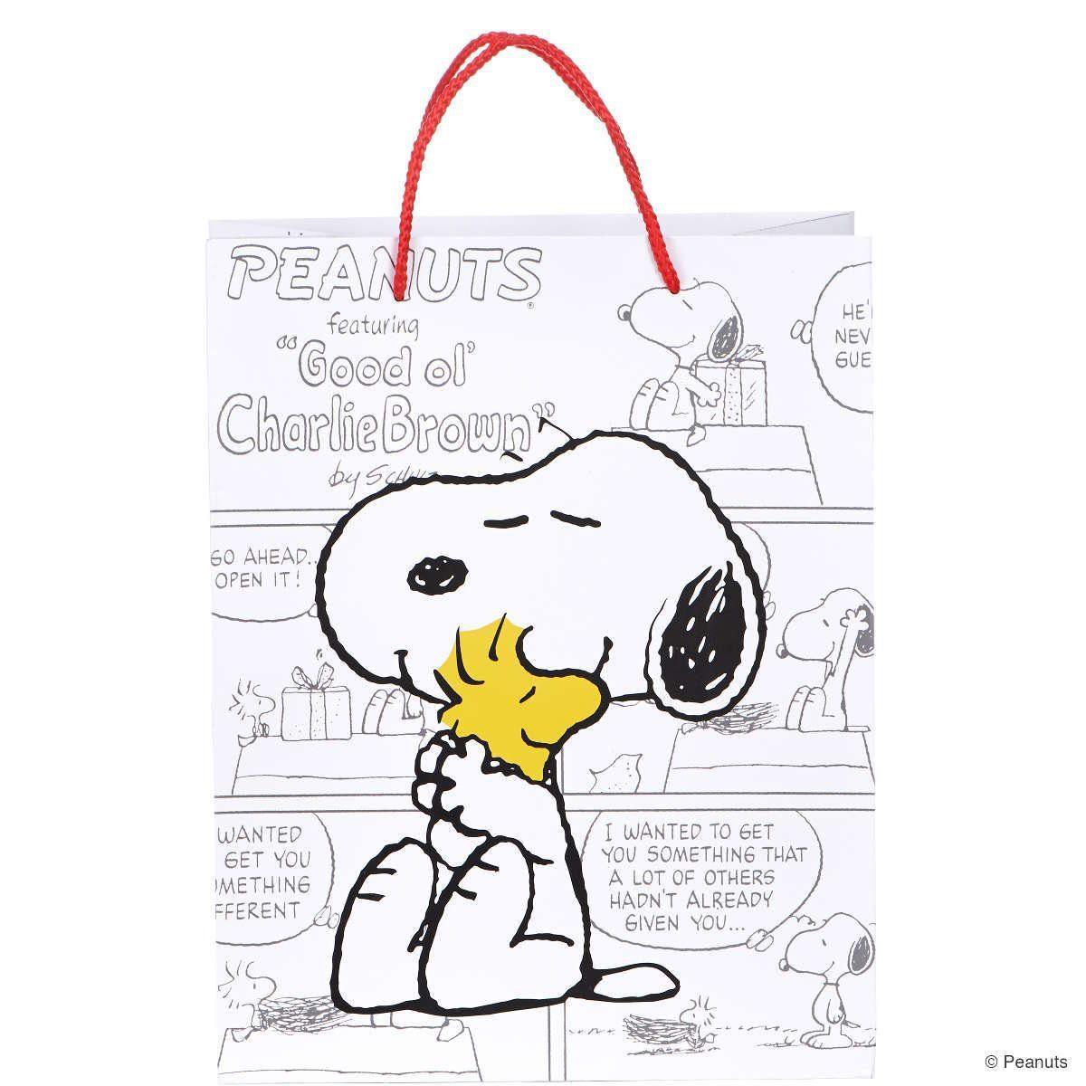 BUTLERS PEANUTS »Geschenktasche Snoopy & Woodstock«