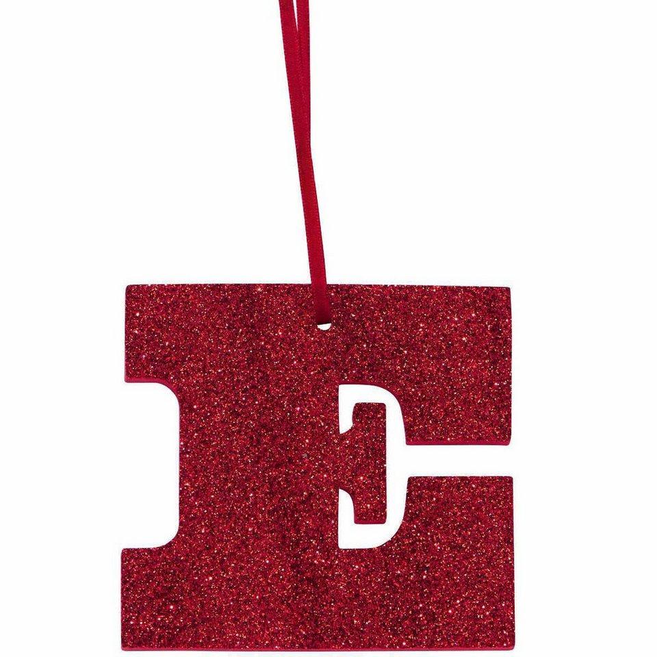 Butlers happy gift glitzerbuchstabe e kaufen otto for Butlers weihnachtsdeko