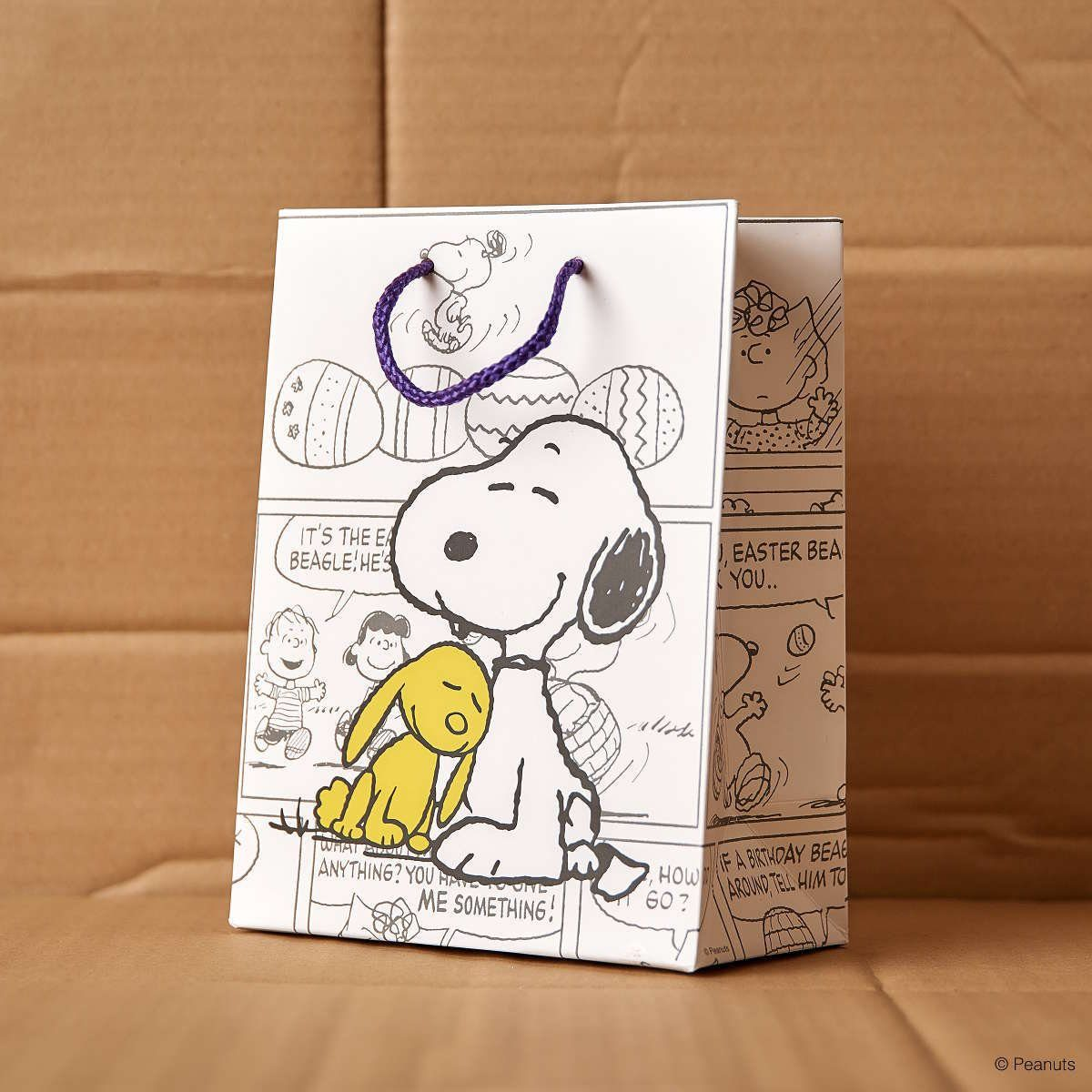 BUTLERS PEANUTS »Geschenktasche Snoopy und Hase«