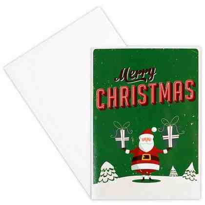 BUTLERS CARD »Santa/Merry Christmas«
