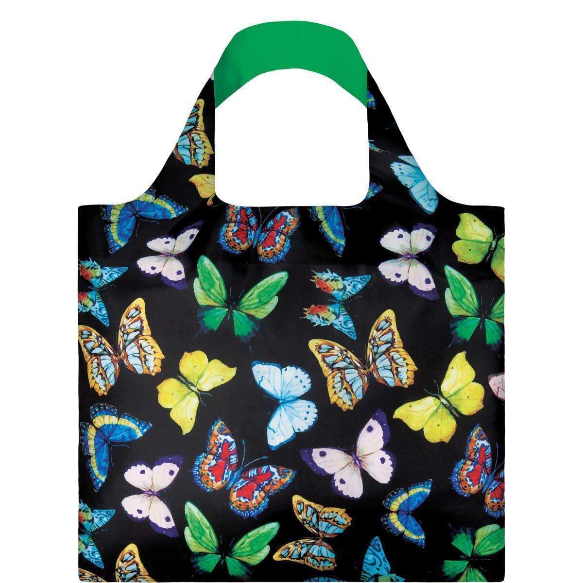 BUTLERS LOQI »Einkaufstasche Schmetterlinge«