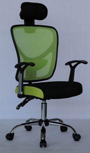 hti living drehstuhl mit kopfst tze linus kaufen otto. Black Bedroom Furniture Sets. Home Design Ideas
