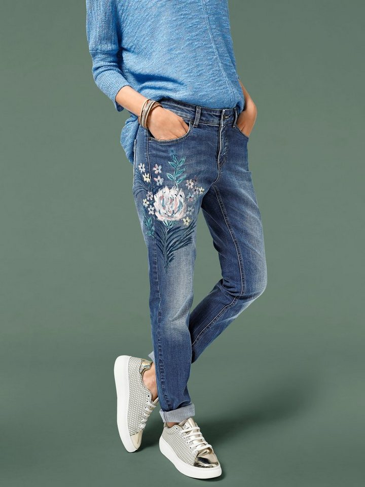 blumen jeans
