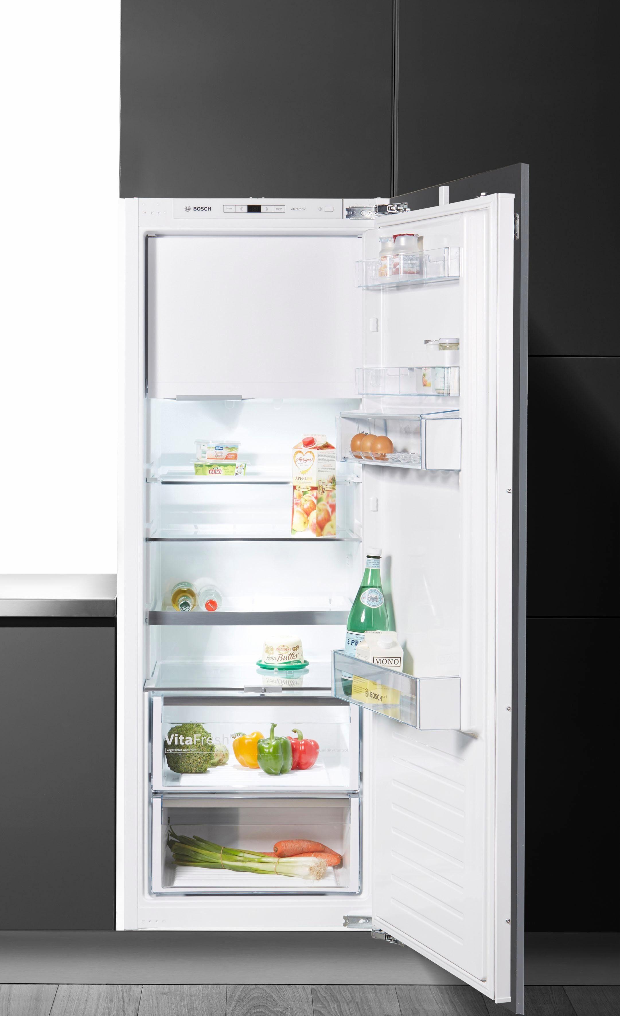 BOSCH Einbaukühlgefrierkombination KIL72AD40, 158 cm hoch, 54,5 cm breit, Energieeffizienzklasse: A+++, 158 cm hoch