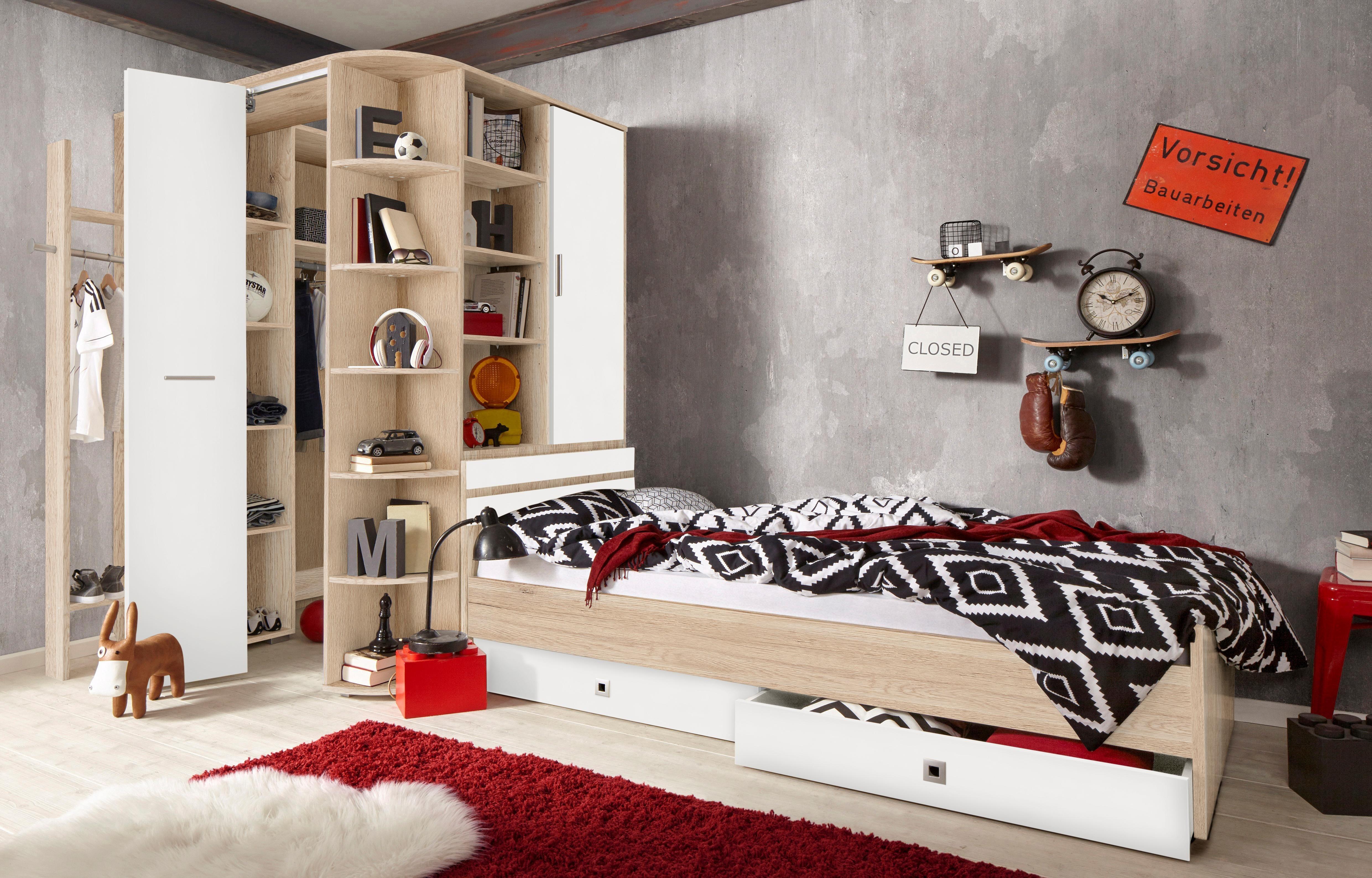 Jugendzimmer Ahorn/weiß Preisvergleich • Die besten Angebote online ...