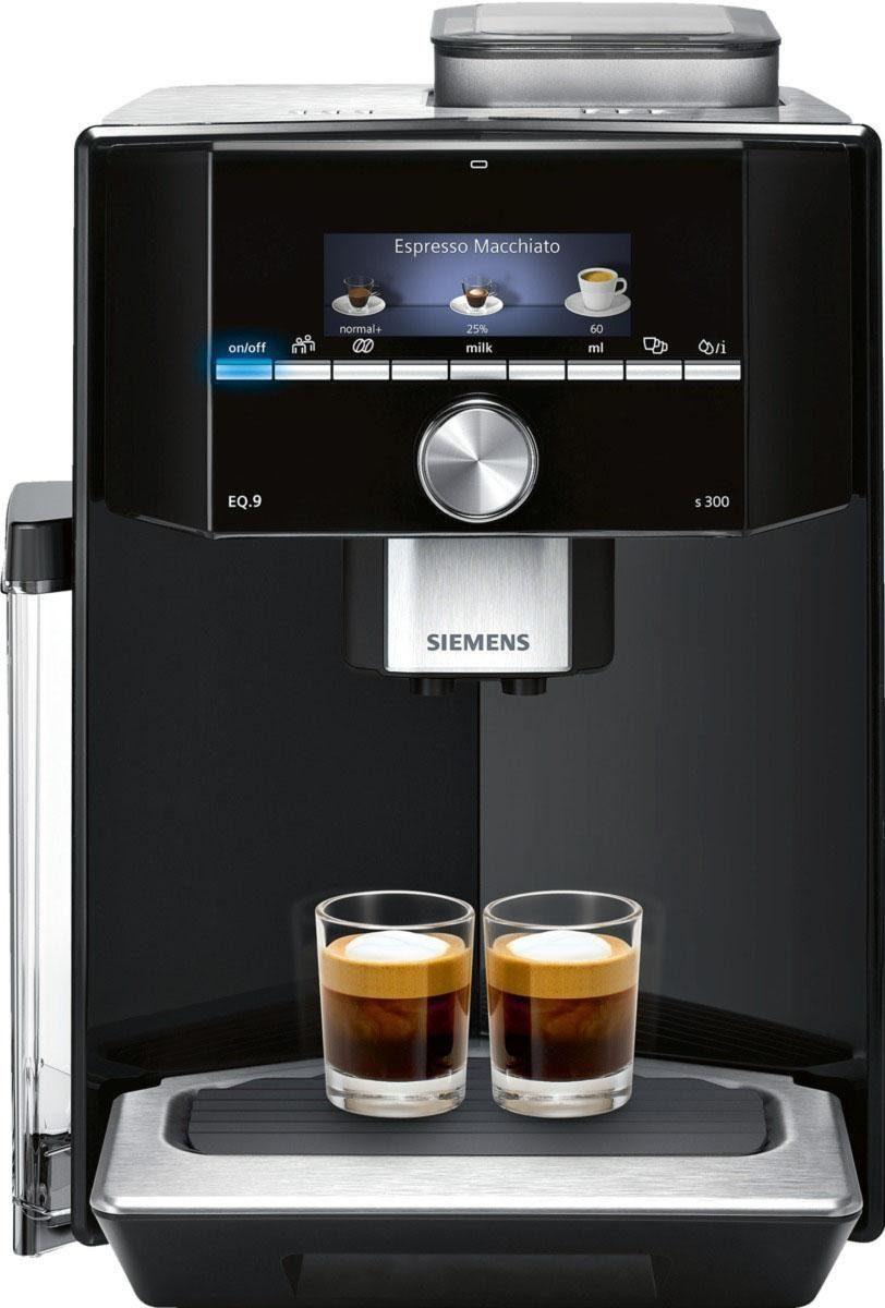 SIEMENS Kaffeevollautomat EQ.9 s300 TI913539DE, der leiseste Kaffeevollautomat