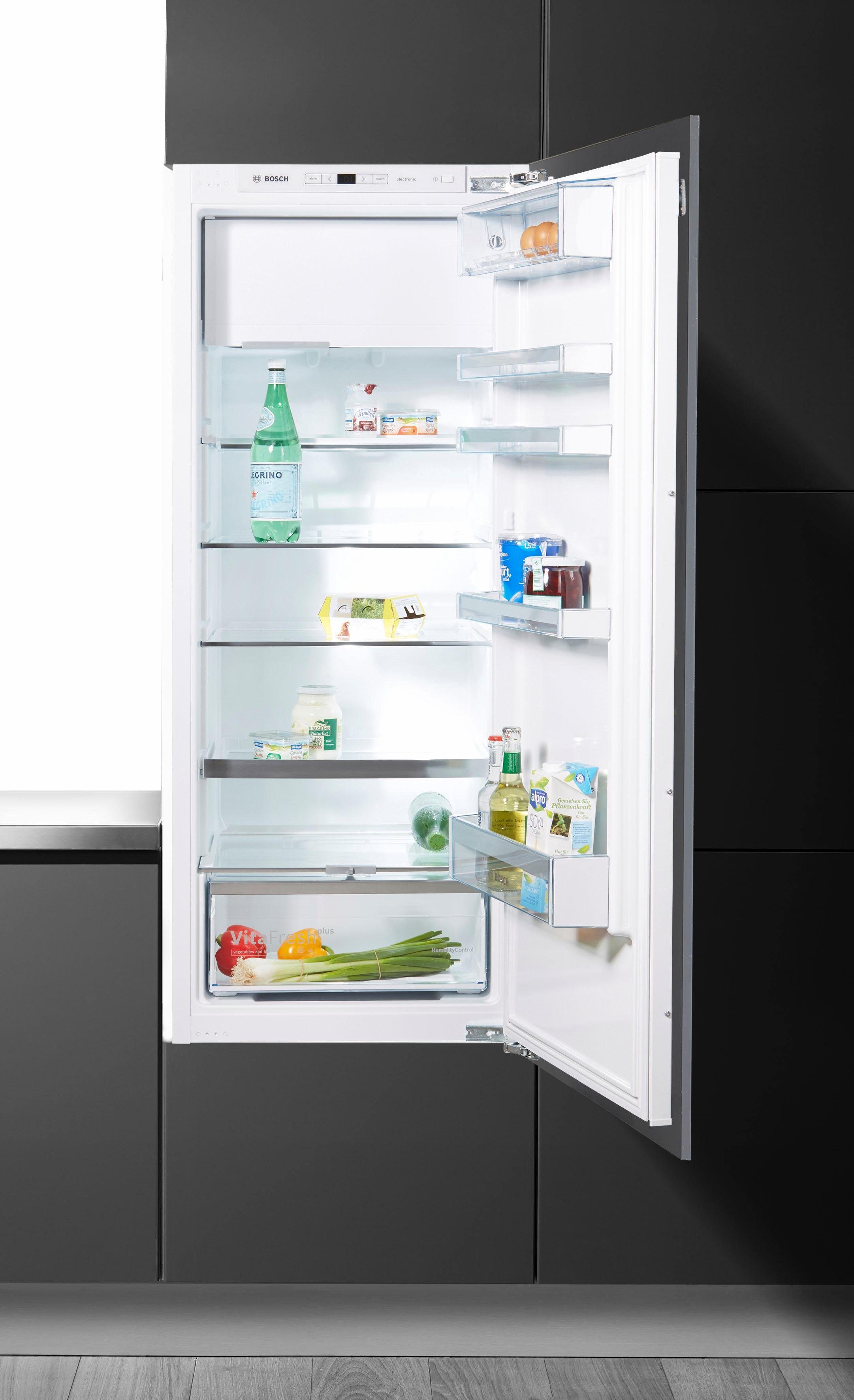 BOSCH Einbaukühlschrank KIL52AF30, 139,7 cm hoch, 55,8 cm breit, A++, 139,7 cm hoch, vollintegrierbar