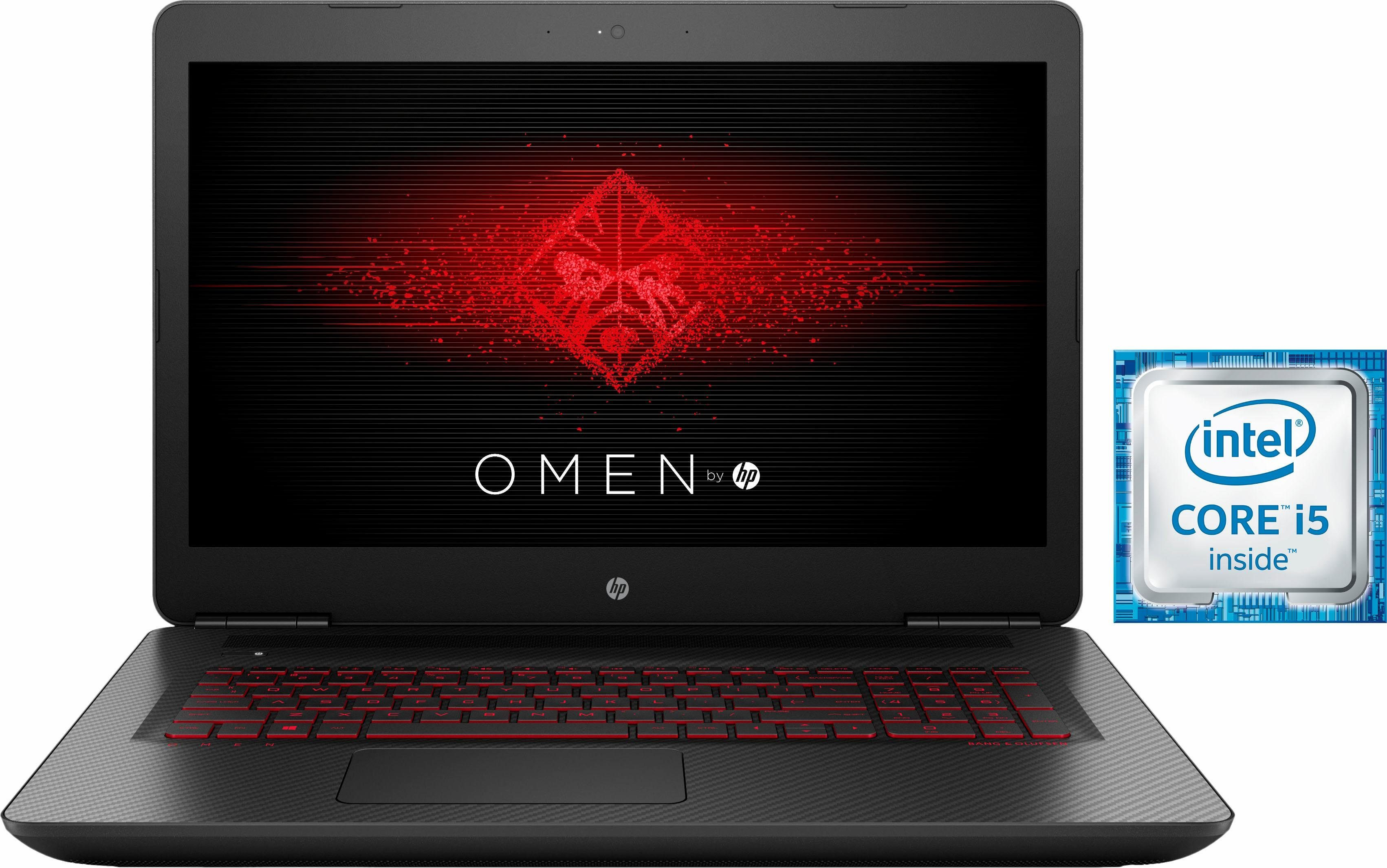 OMEN by HP 17-w203ng Notebook, Intel® Core™ i5, 43,9 cm (17,3 Zoll), 1256 GB Speicher