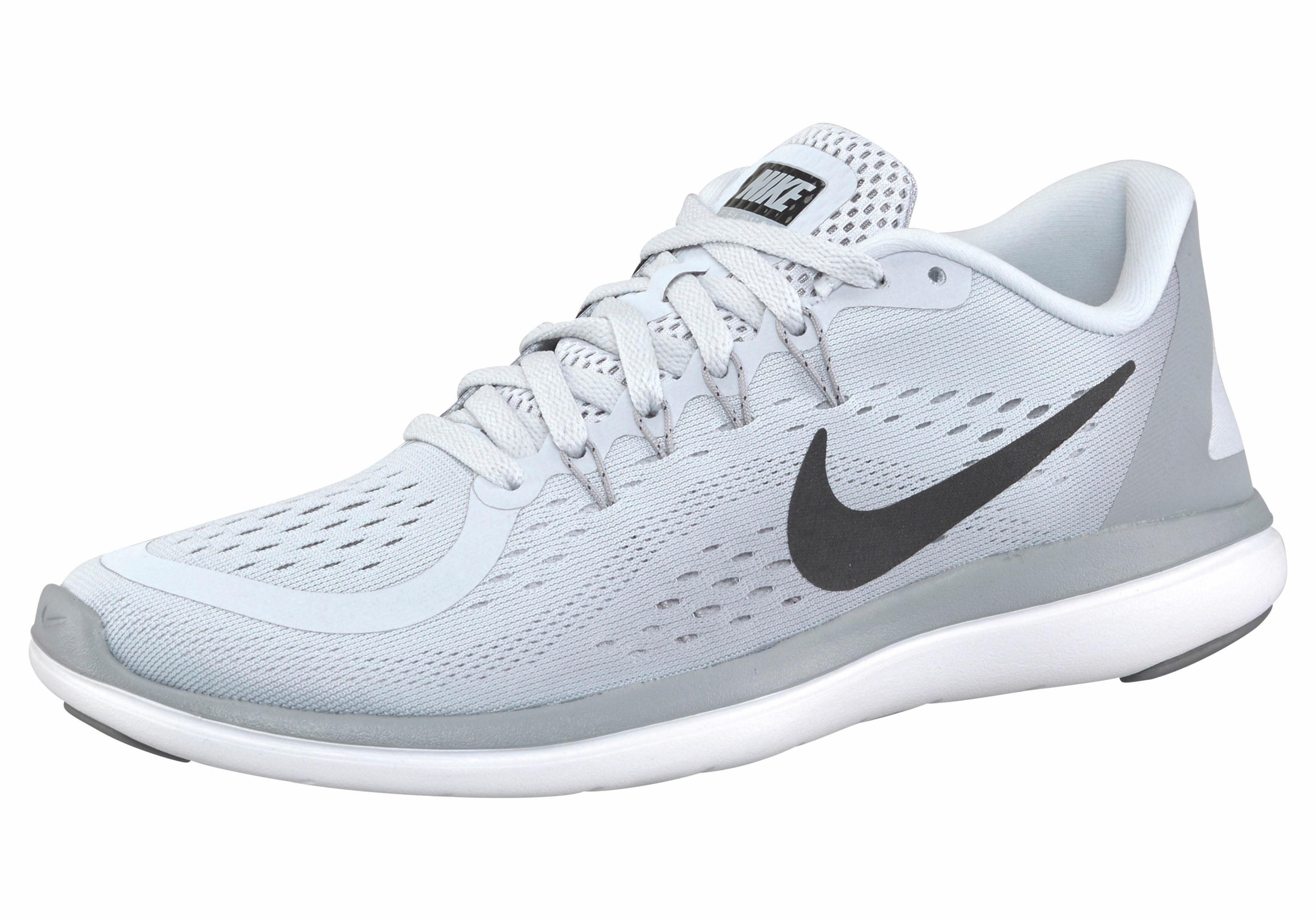 Nike »Wmns Flex Run 2017« Laufschuh, schwarz, schwarz-bronzefarben