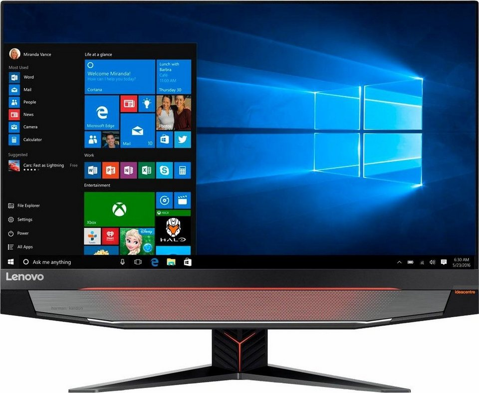 lenovo ideacentre aio y910 27ish 68 6 cm 27 zoll all in. Black Bedroom Furniture Sets. Home Design Ideas