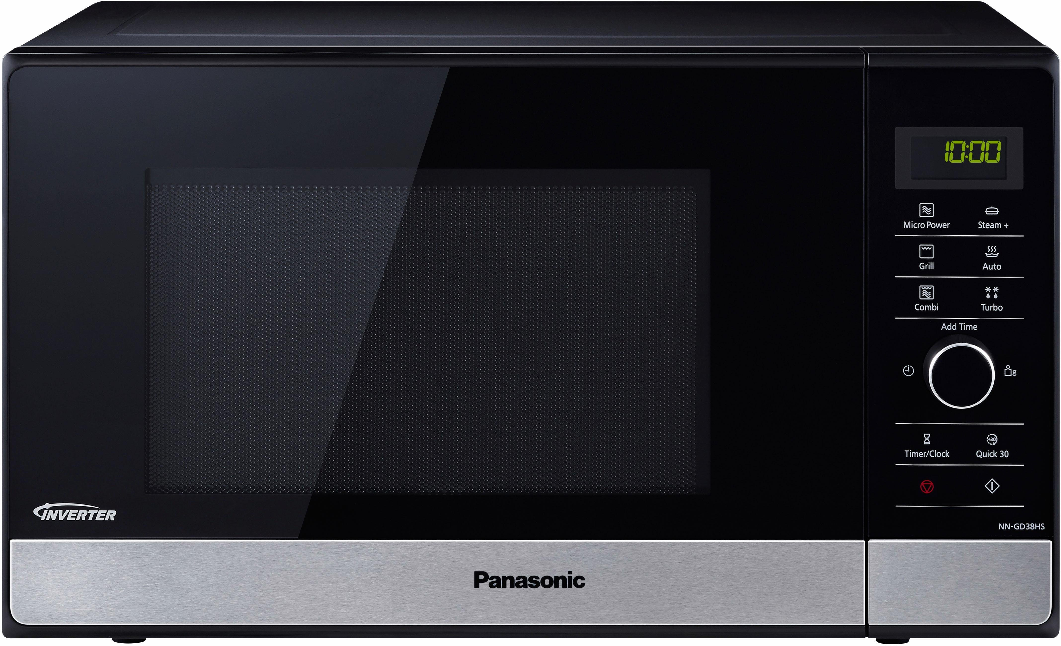 Panasonic Mikrowelle NN-GD38HSGTG, 1000 W, mit Grill
