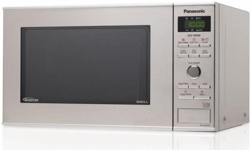 Panasonic Mikrowelle NN-GD37HSGTG, 1000 W, mit Grill