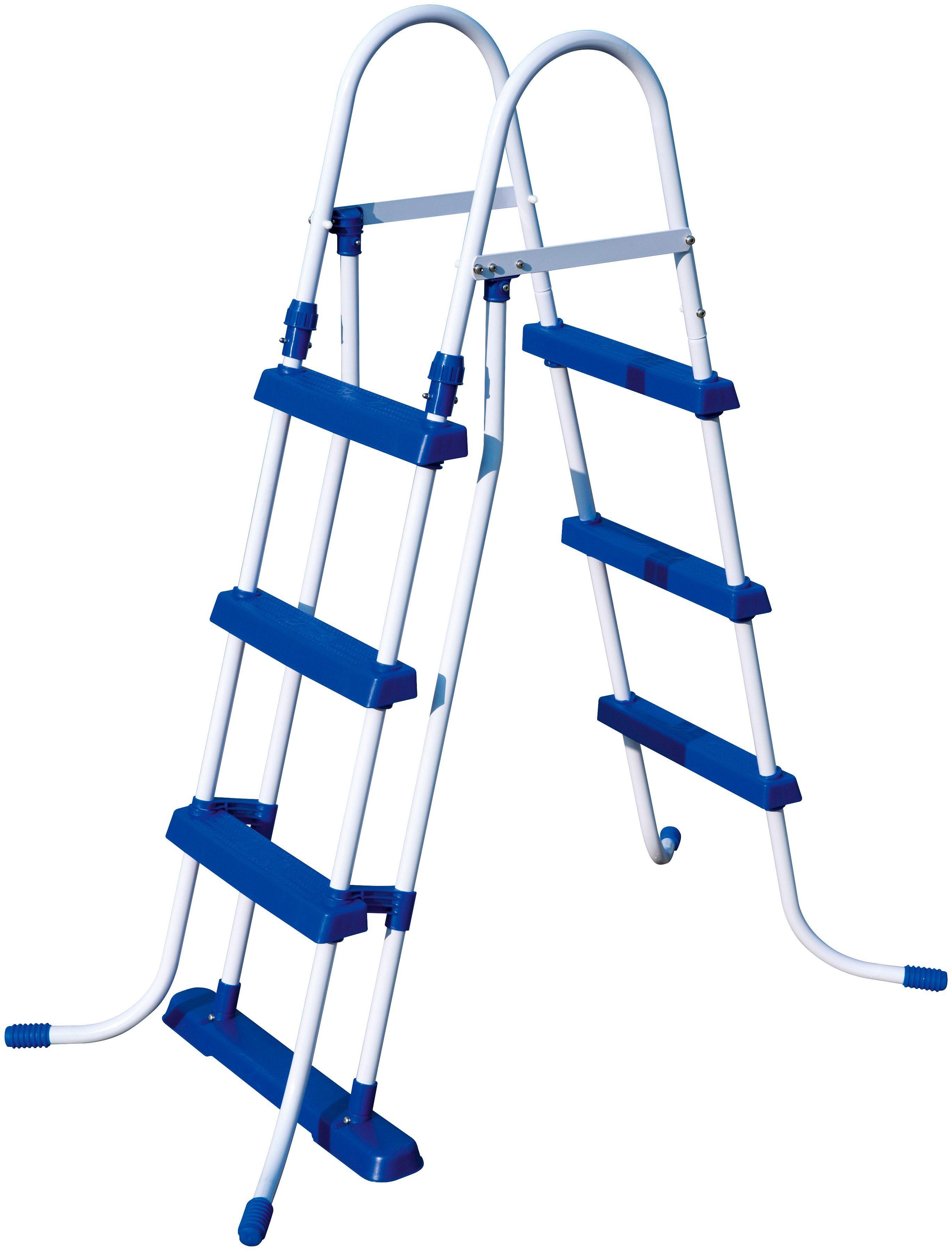 BESTWAY Pool-Übersteigleiter , für Poolhöhe: 107 cm