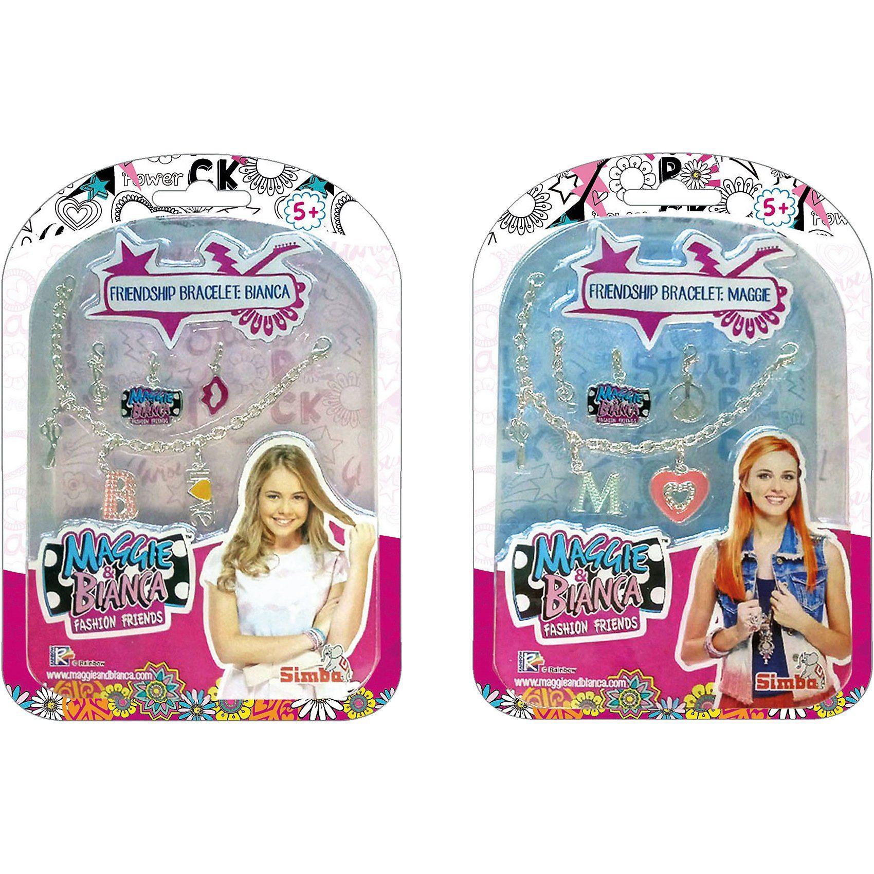 Simba Maggie & Bianca Fashion Friends Freundschafts- armband, 2-so