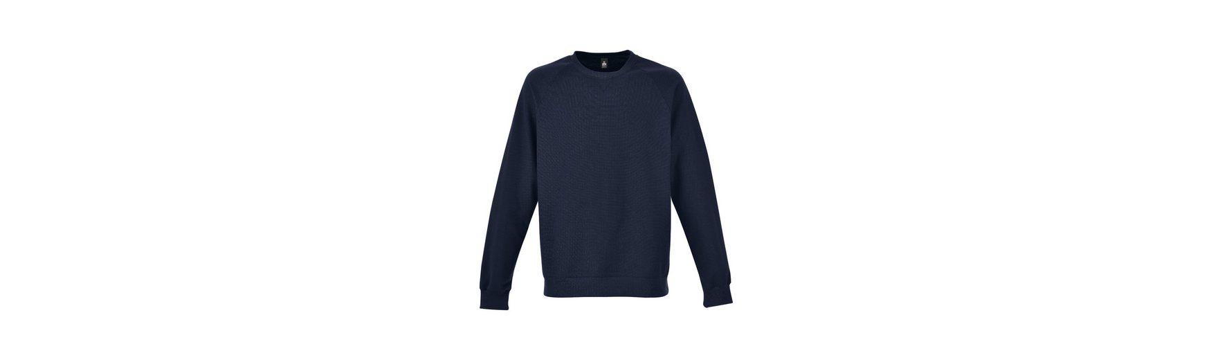mit angerauter TRIGEMA Sweatshirt mit TRIGEMA Sweatshirt Innenseite aTI0w