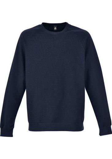 TRIGEMA Sweatshirt mit angerauter Innenseite
