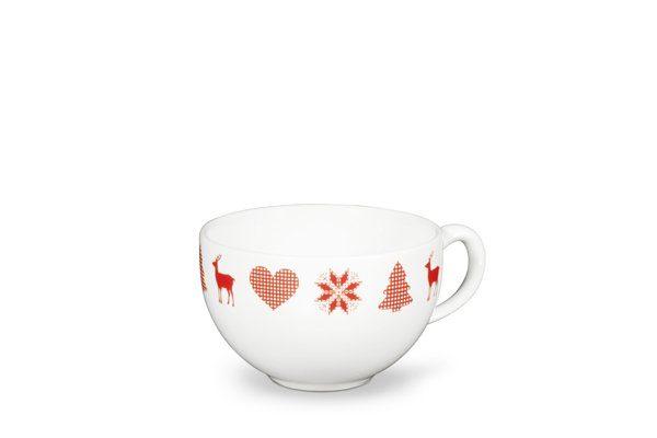 FRIESLAND Kaffee- Obertasse 240ml »Happymix Winterzauber«