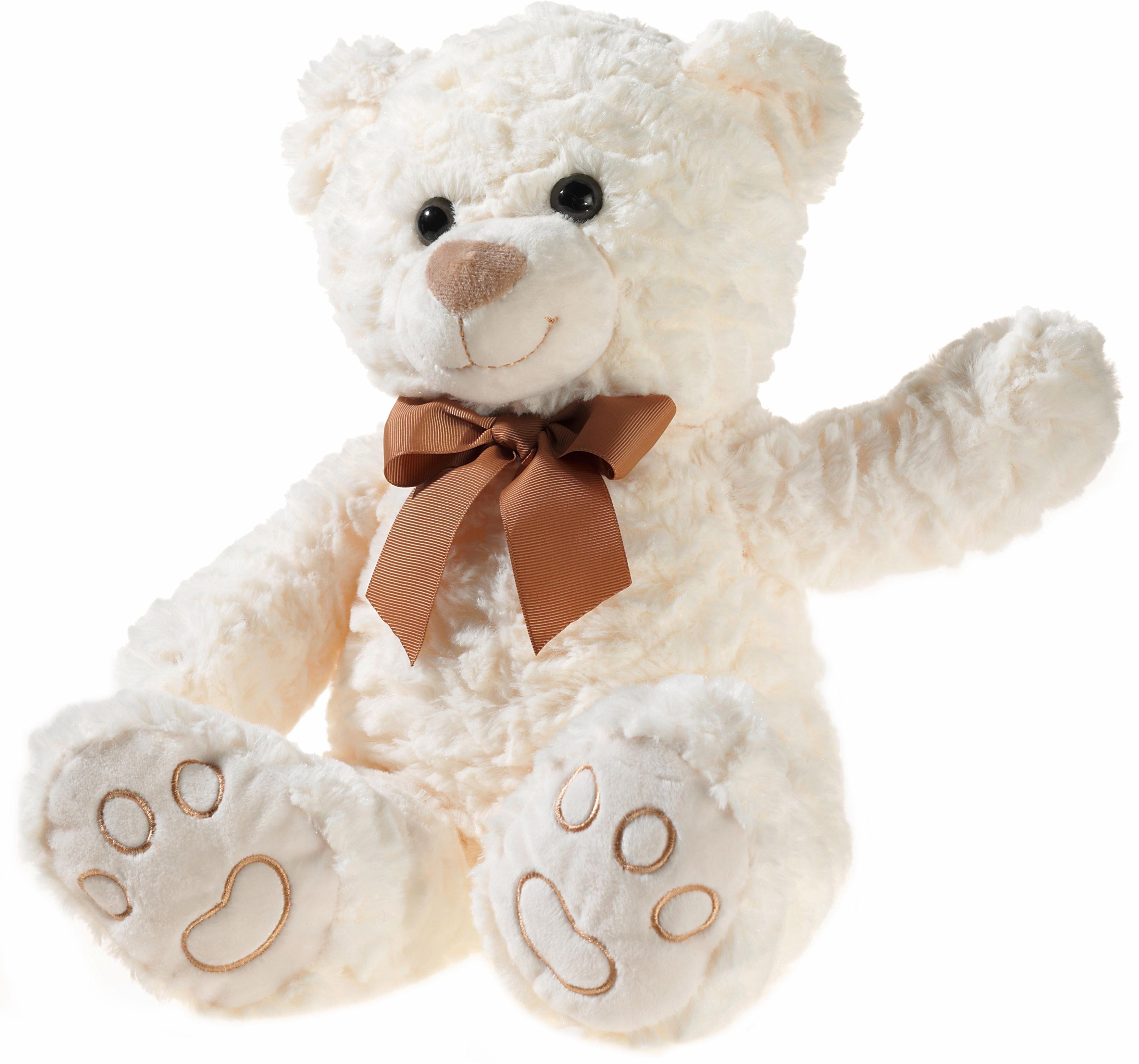 20 cm. Teddy Hermann Stofftier Kuscheltier Bär beige ca Stofftiere